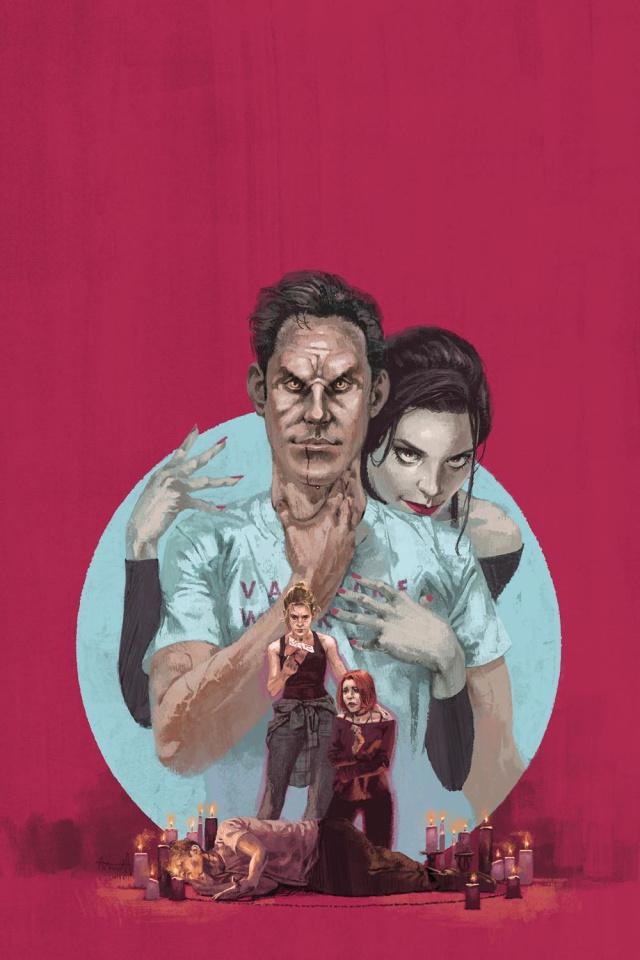 Buffy the Vampire Slayer #5 (Aspinall Cover)