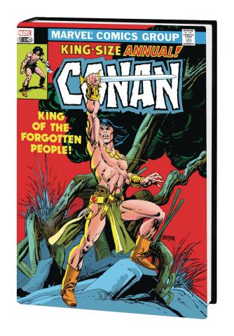 Conan the Barbarian: The Original Marvel Years Vol. 5 (Omnibus)