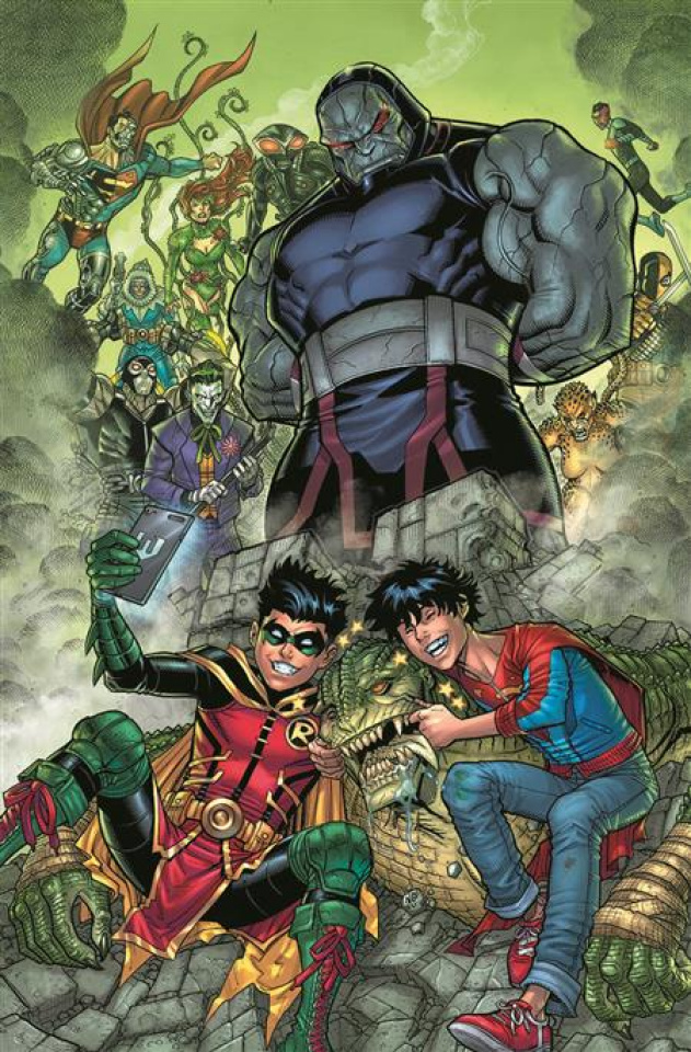 Challenge of the Super Sons #2 (Nick Bradshaw Card Stock Cover)
