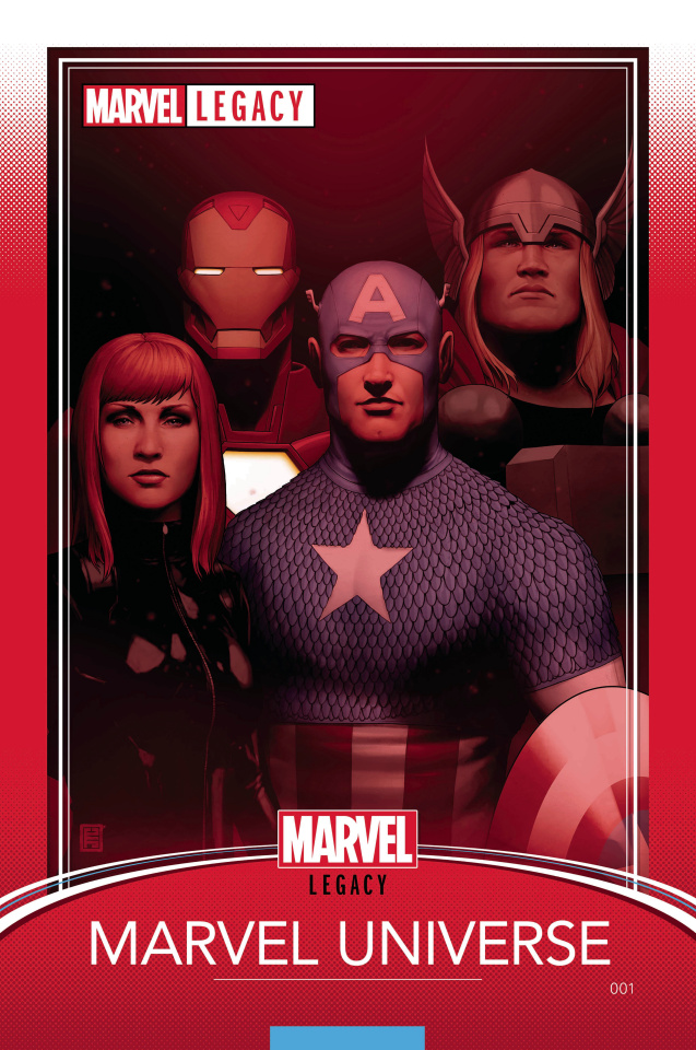 Marvel Legacy #1 (Christopher Trading Card Cover)