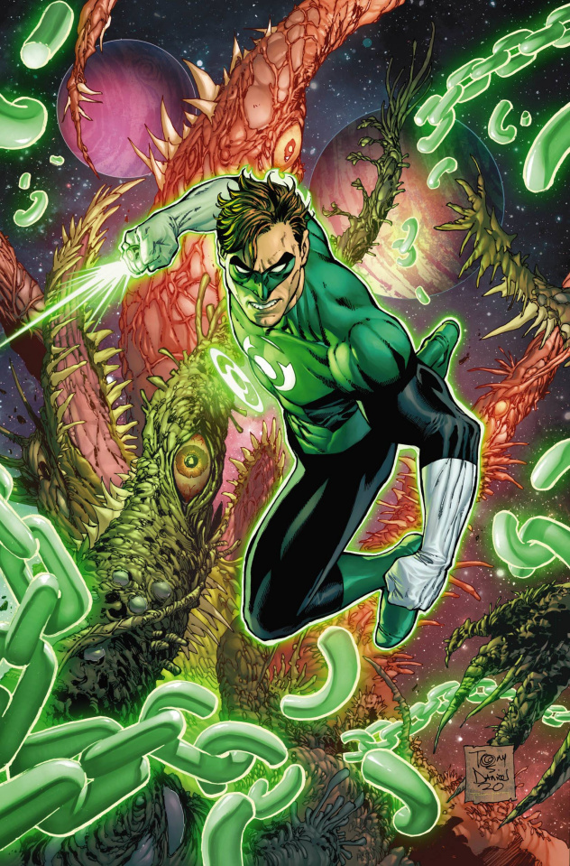 Green Lantern, Season 2 #6 (Tony Daniel Cover)