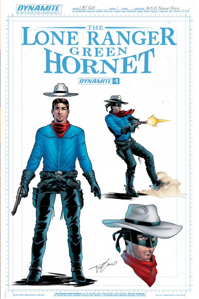 The Lone Ranger / The Green Hornet #1 (15 Copy Ranger Cover)
