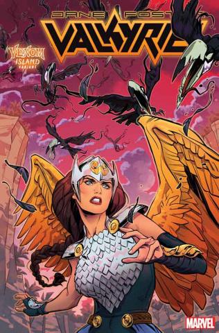 Jane Foster: Valkyrie #6 (Rud Venom Island Cover)