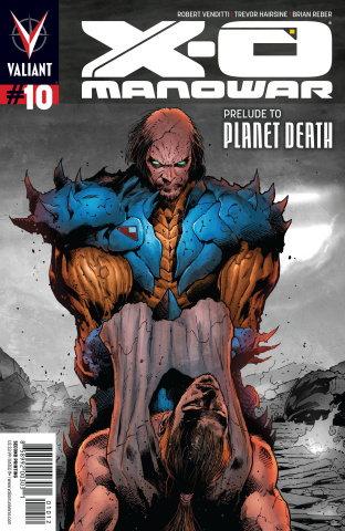 X-O Manowar #10 (2nd Printing)
