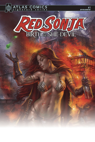 Red Sonja: Birth of the She Devil #1 (Lieberman Signed Atlas Edition)