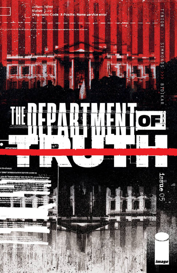The Department of Truth #5 (Simmonds Cover)
