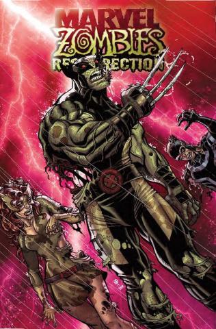 Marvel Zombies: Resurrection #1 (Bradshaw Cover)