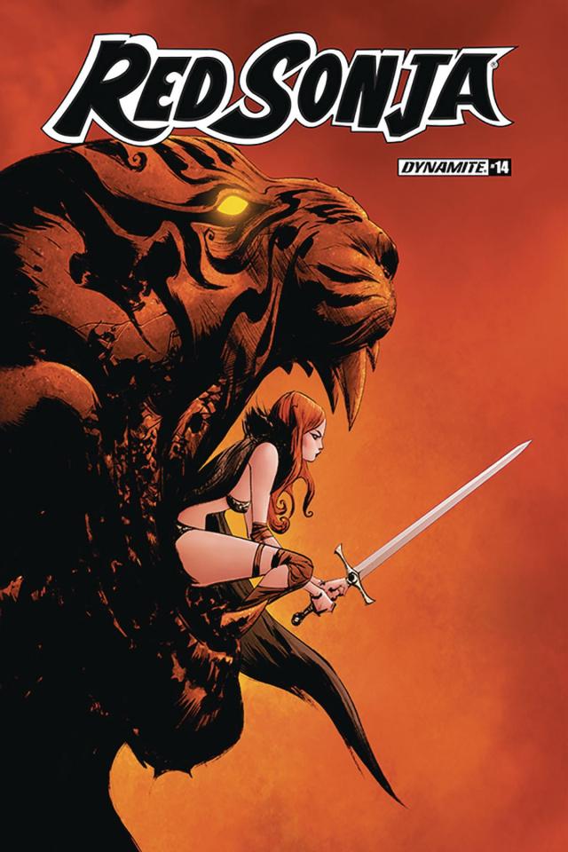 Red Sonja #14 (Jae Lee Cover)