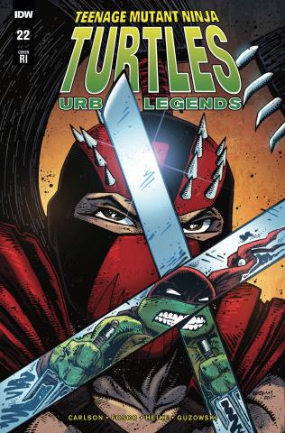 Teenage Mutant Ninja Turtles: Urban Legends #22 (10 Copy Eastman Cover)