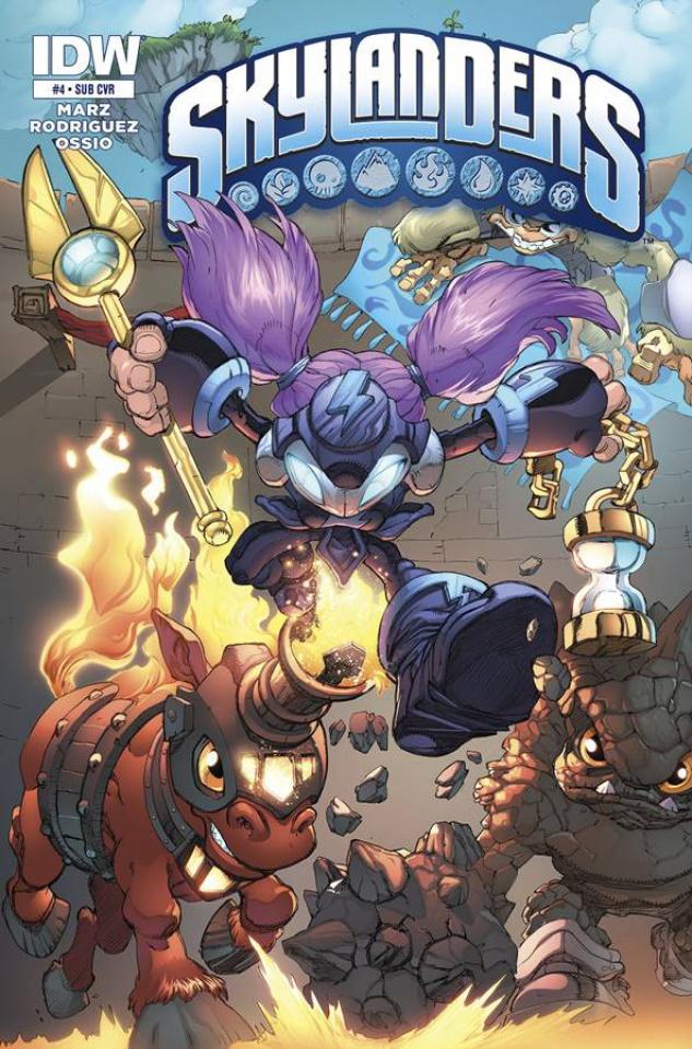 Skylanders #4 (Subscription Cover)