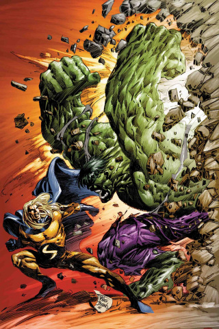 Marvel Knights: 20th Anniversary #6 (Deodato Cover)