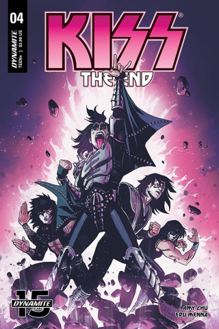KISS: The End #4 (Brown Cover)