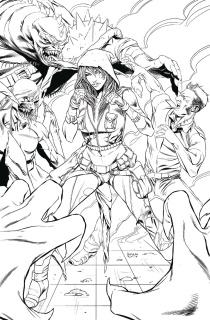 Robyn Hood: The Hunt #6 (Silva Cover)