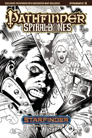 Pathfinder: Spiral of Bones #5 (20 Copy Santucci Cover)