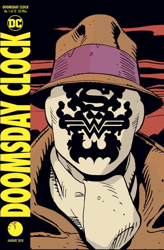 Doomsday Clock #1 (Lenticular Cover)