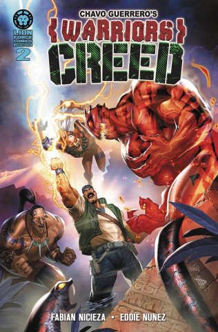 Warriors Creed #2 (Spanish Cover)