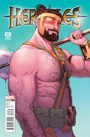 Hercules #2 (Dauterman Cover)