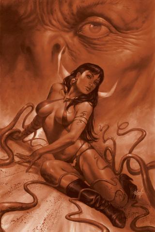 Vampirella #15 (21 Copy Parrillo Tint Virgin Cover)