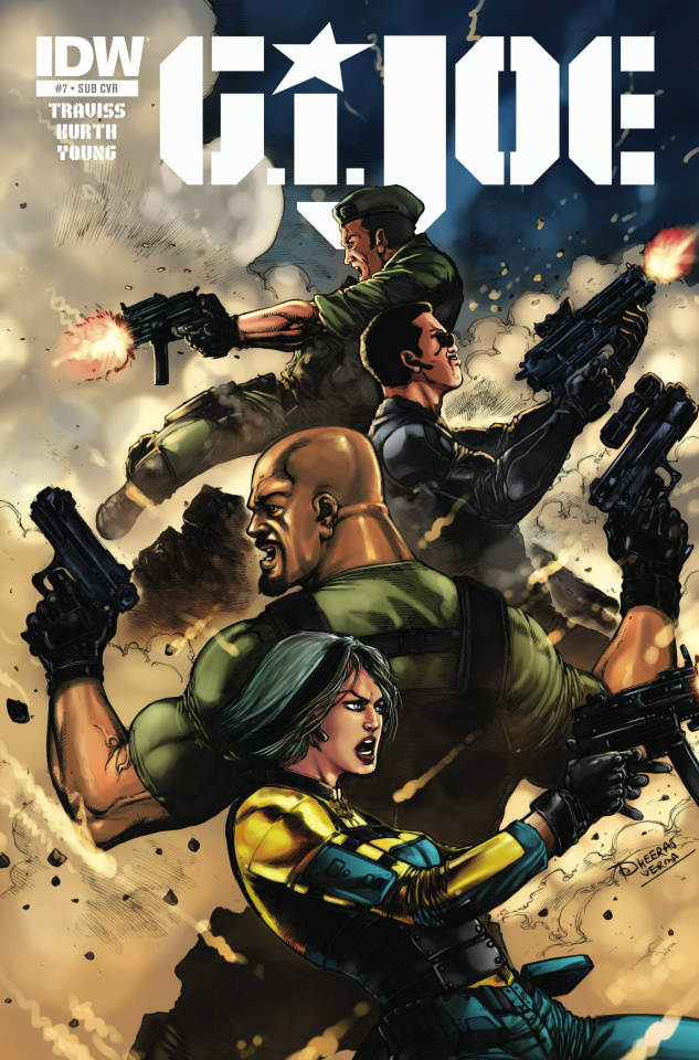 G.I. Joe #7 (Subscription Cover)