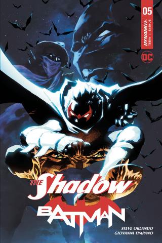The Shadow / Batman #5 (Tan Cover)