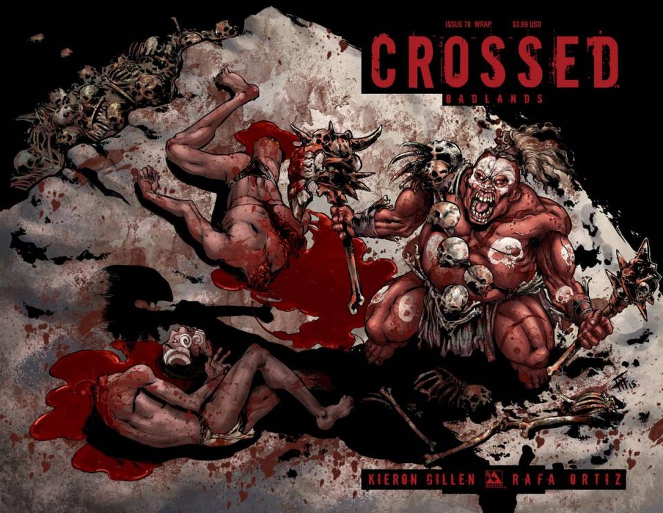 Crossed: Badlands #78 (Wrap Cover)