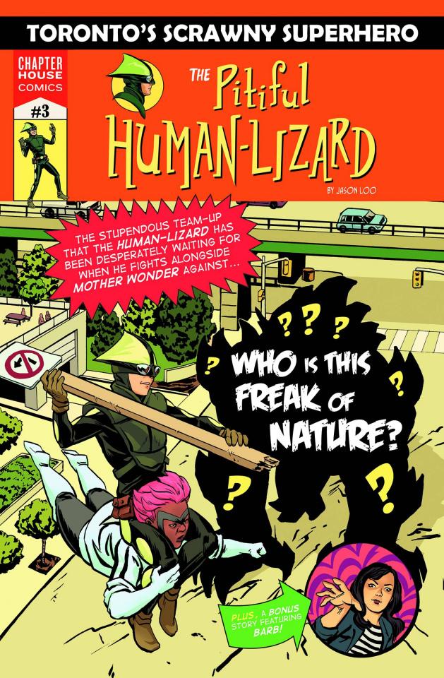 The Pitiful Human-Lizard #3