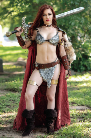 Red Sonja: The Superpowers #3 (25 Copy Cosplay Virgin Cover)