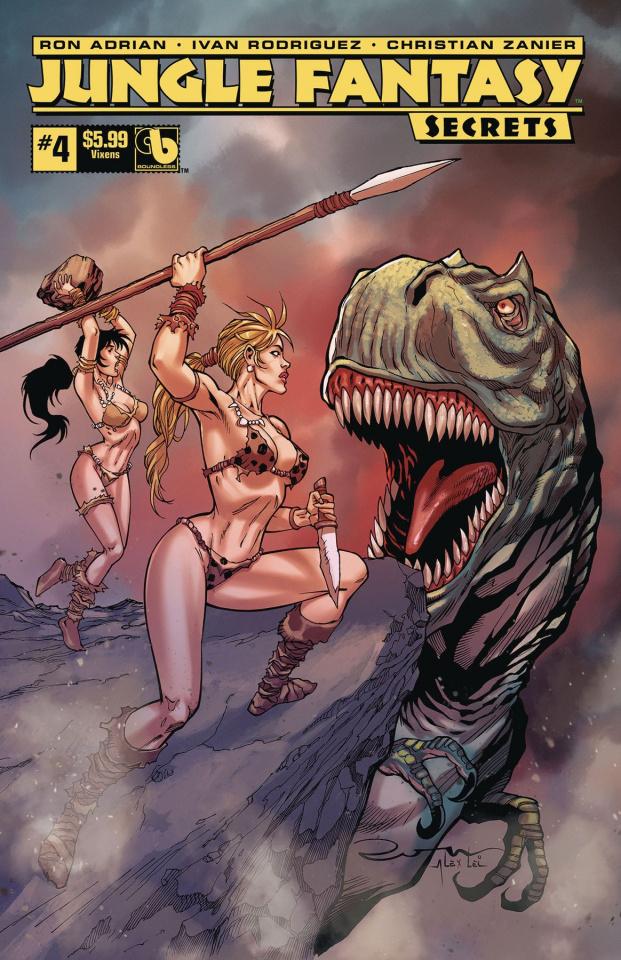 Jungle Fantasy: Secrets #4 (Vixens Cover)
