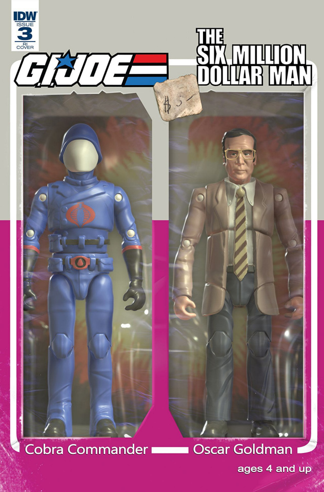 G.I. Joe vs. The Six Million Dollar Man #3 (Messina Cover)