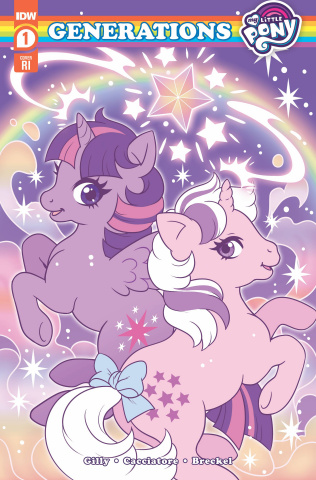 My Little Pony: Generations #1 (10 Copy Whitten Cover)