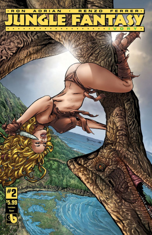 Jungle Fantasy: Ivory #2 (Luscious Cover)