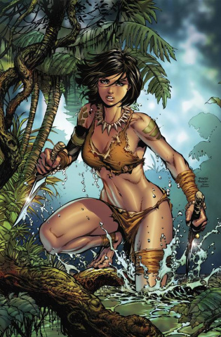 Grimm Fairy Tales: The Jungle Book - Fall of the Wild #1 (Finch Cover)