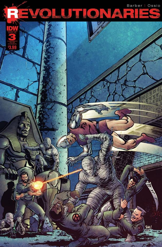 Revolutionaries #3 (Subscription Cover)