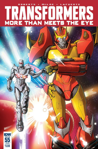 The Transformers: More Than Meets the Eye #55 (ROM Cover)