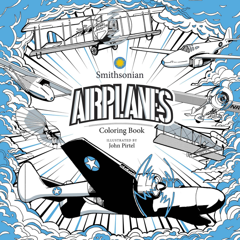 Airplane: A Smithsonian Coloring Book