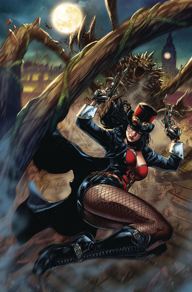 Grimm Fairy Tales 2019 Giant Size #1 (White Cover)