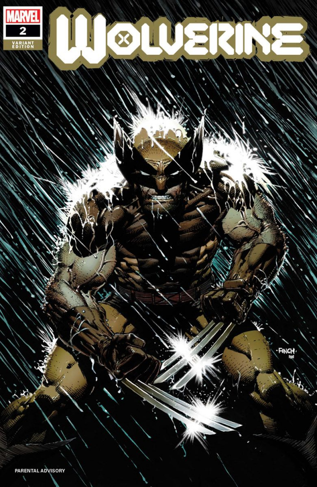 Wolverine #2 (Finch Cover)