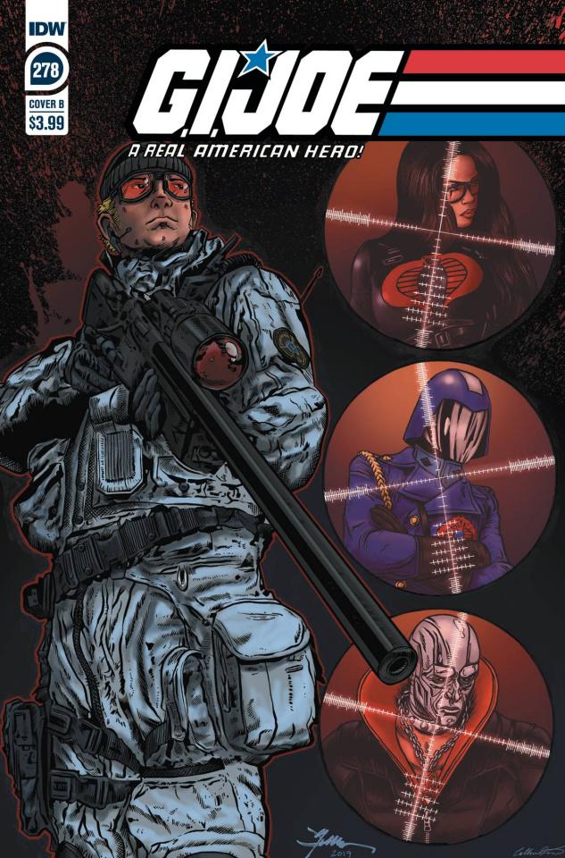 G.I. Joe: A Real American Hero #278 (Jamie Sullivan Cover)