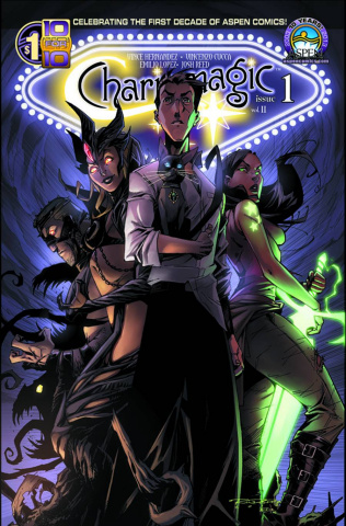 Charismagic #1 (Direct Market Cover)