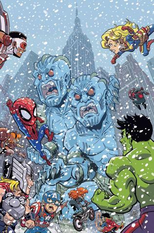 Marvel Super Hero Adventures: Captain Marvel vs. the Frost Giants #1