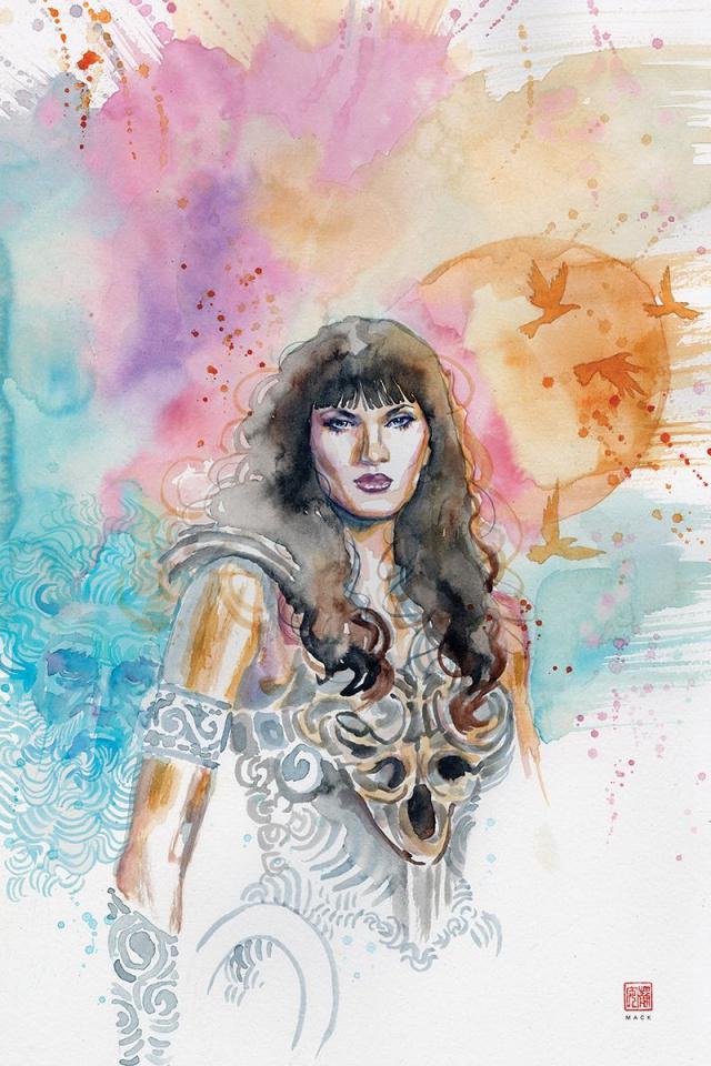 Xena: Warrior Princess #6 (10 Copy Mack Virgin Cover)