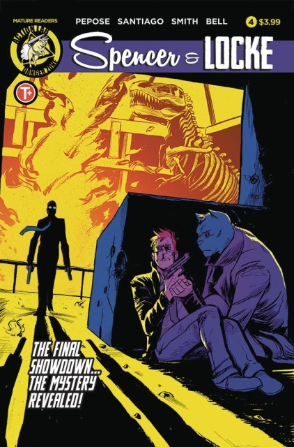 Spencer & Locke #4 (Santiago Jr. Cover)