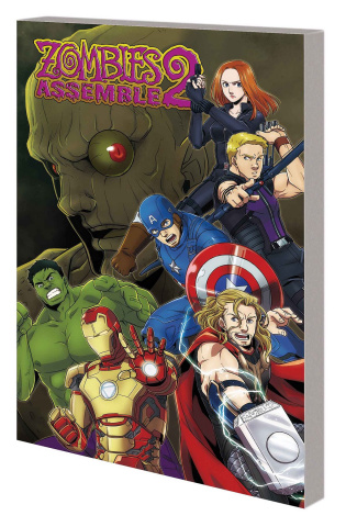 Zombies Assemble Manga Vol. 2