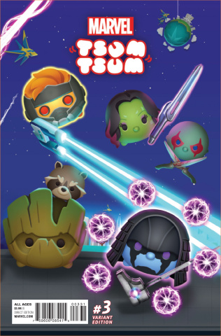 Marvel Tsum Tsum #3 (Classified Connecting Cover)