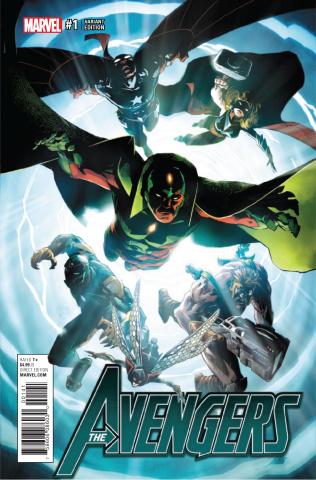 Avengers #1 (Kubert Cover)