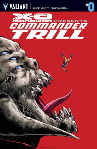 X-O Manowar: Commander Trill #0 (Jimenez Cover)