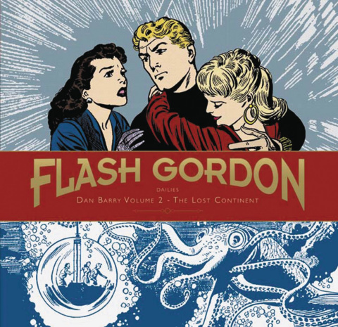 Flash Gordon Dailies Vol. 2: The Lost Continent