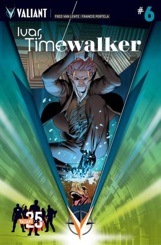 Ivar, Timewalker #6 (25th Anniversary Sandoval Cover)