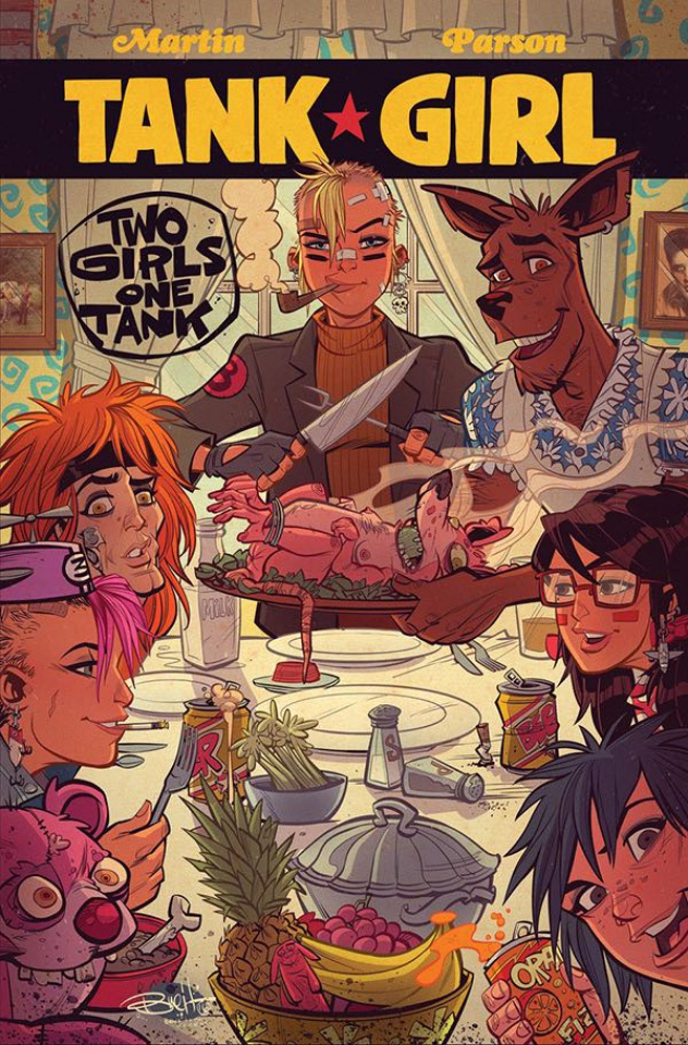 Tank Girl: Two Girls, One Tank #3 (Parson Cover)