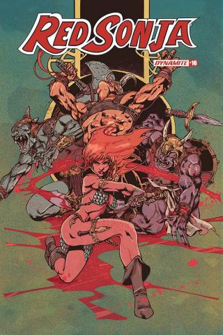 Red Sonja #16 (Castro Color Bonus Cover)